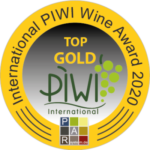 PIWI 2020 - Top Gold, meilleur vin rouge 98/100